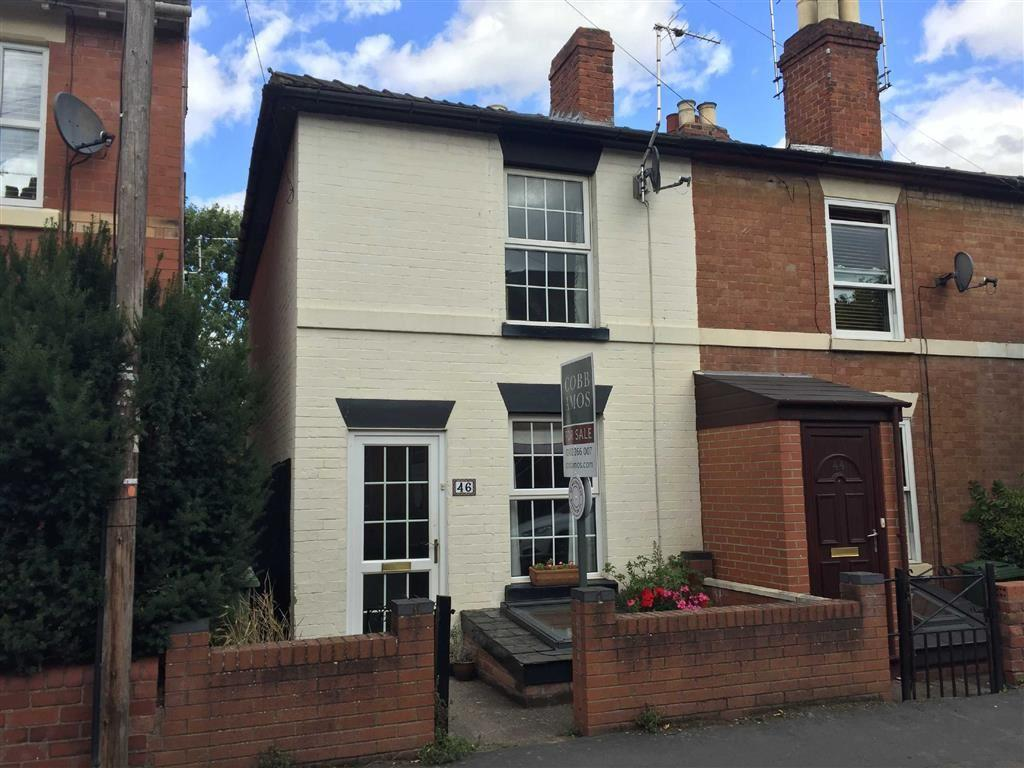 2 Bedrooms End Of Terrace House for sale in Cotterell Street, WHITECROSS, Hereford