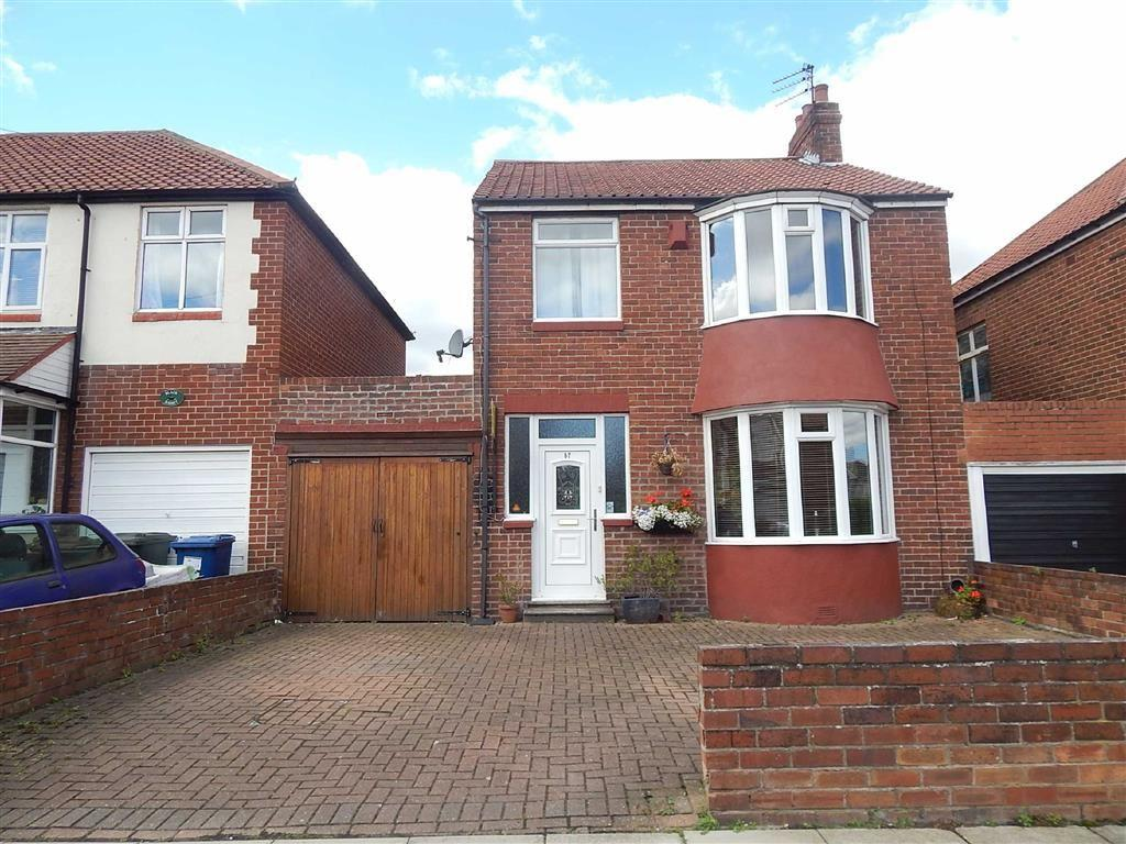 3 Bedrooms Detached House for sale in Whinneyfield Road, Walkergate, Newcastle Upon Tyne, NE6