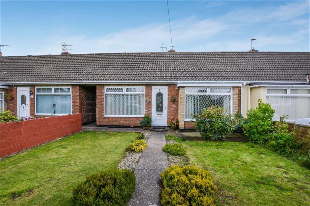 2 Bedrooms Terraced Bungalow for sale in Weeton Close, Off Ravenspur Road, Bilton, HU11