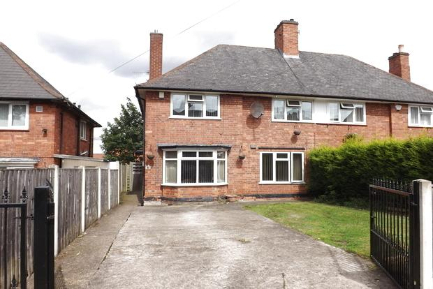 3 Bedrooms Semi Detached House for sale in Edingley Avenue, Sherwood, Nottingham, NG5