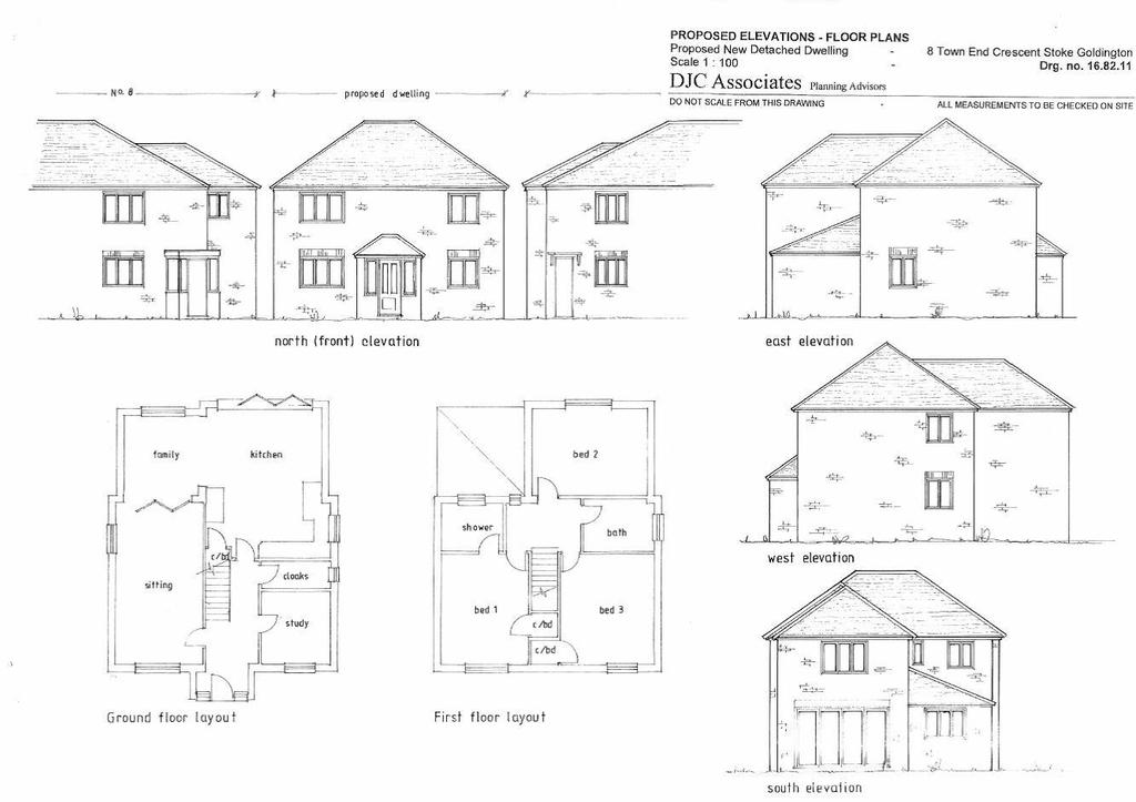 3 Bedrooms Plot Commercial for sale in Town End Crescent, Stoke Goldington, Newport Pagnell