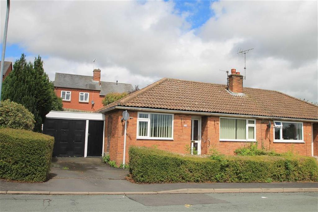2 Bedrooms Semi Detached Bungalow for sale in Kennet Bank, Ludlow