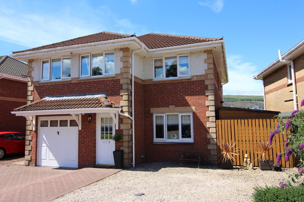 5 Bedrooms Detached House for sale in WILLOWBANK GARDENS, LEVENBANK, BONHILL, ALEXANDRIA G83