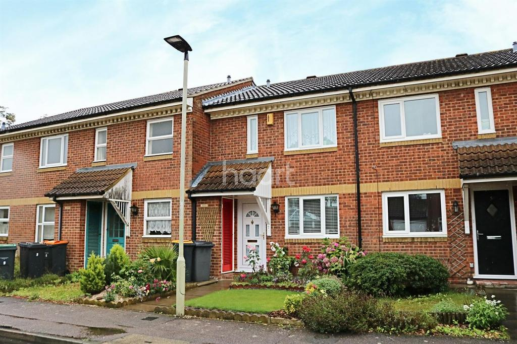 2 Bedrooms Terraced House for sale in Alburgh Close, Bedford