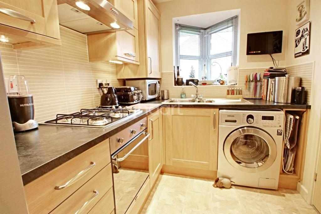 2 Bedrooms End Of Terrace House for sale in Dukes Court, Portland Road, Hucknall