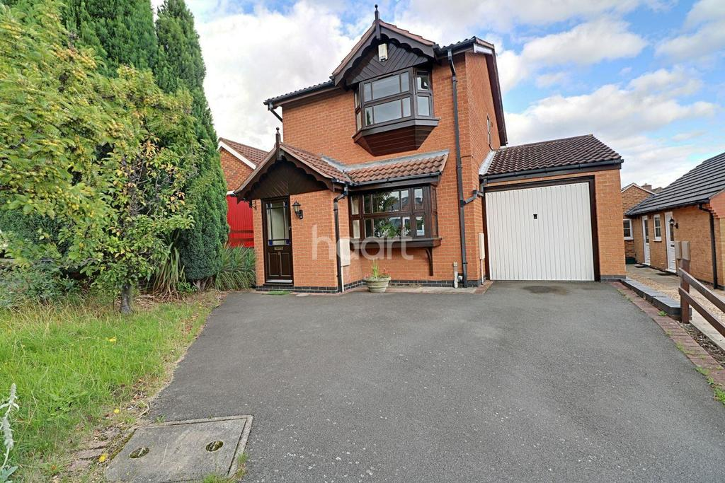 3 Bedrooms Detached House for sale in Poplar Close, Carlton