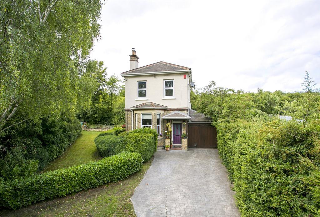 4 Bedrooms Detached House for sale in Sevenoaks Road, Halstead, Sevenoaks, Kent