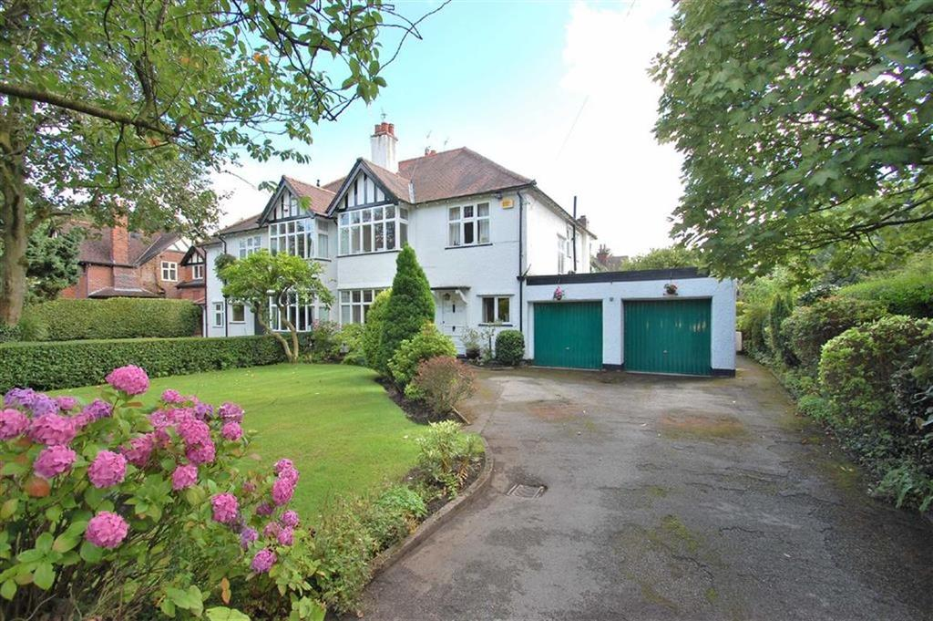 4 Bedrooms Semi Detached House for sale in Bramhall Park Road, Bramhall, Cheshire