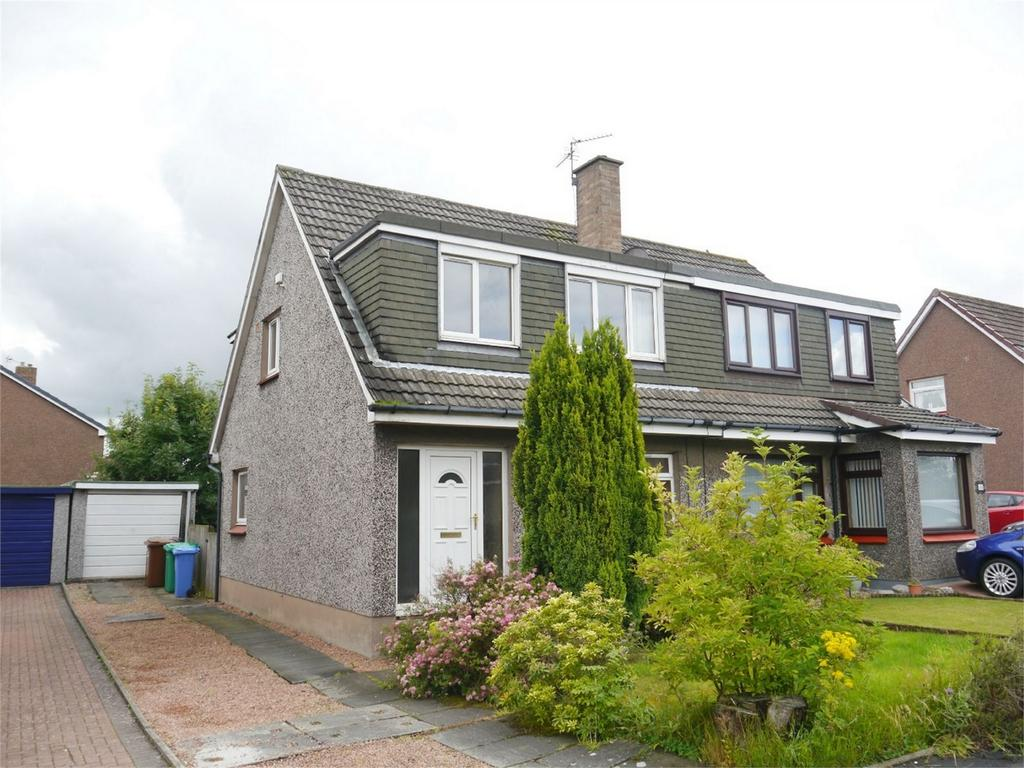 3 Bedrooms Semi Detached House for sale in 16 Katrine Drive, Crossford, Dunfermline, Fife