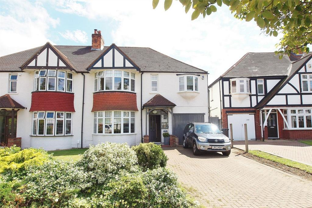4 Bedrooms Semi Detached House for sale in Kingswood Road, Shortlands, Bromley