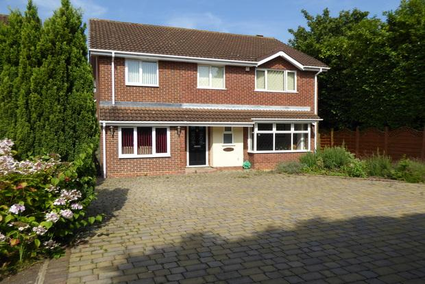 4 Bedrooms Detached House for sale in Rea Close, East Hunsbury, Northampton, NN4