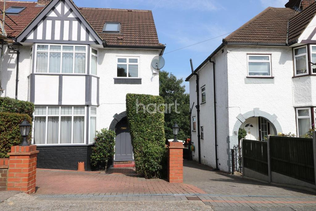 4 Bedrooms Semi Detached House for sale in Hillside, London NW9