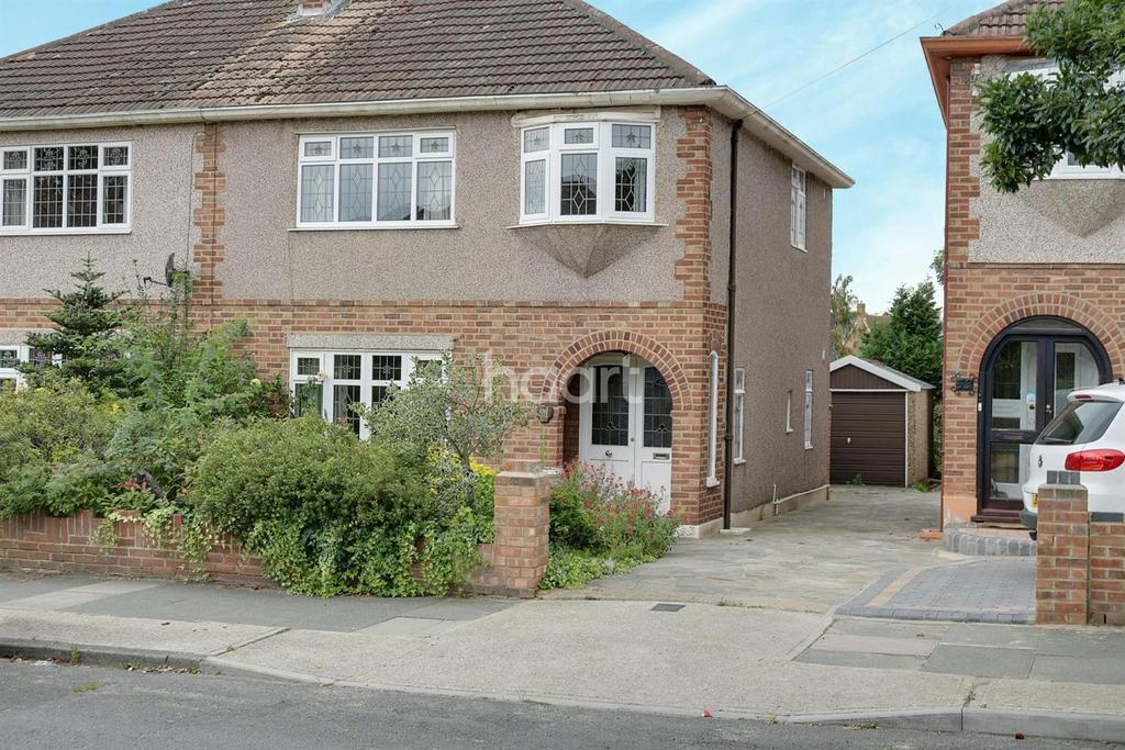 3 Bedrooms Semi Detached House for sale in Ayr Way, Rise Park, Romford