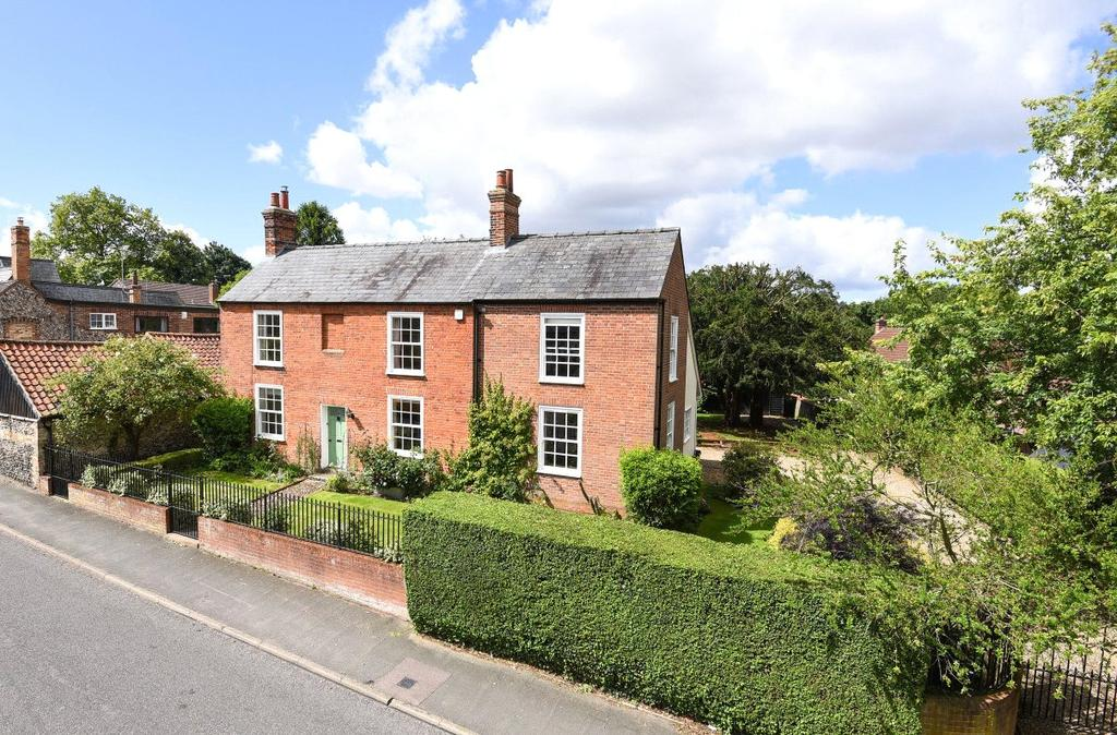 4 Bedrooms Detached House for sale in High Street, Stetchworth, Newmarket, Suffolk, CB8