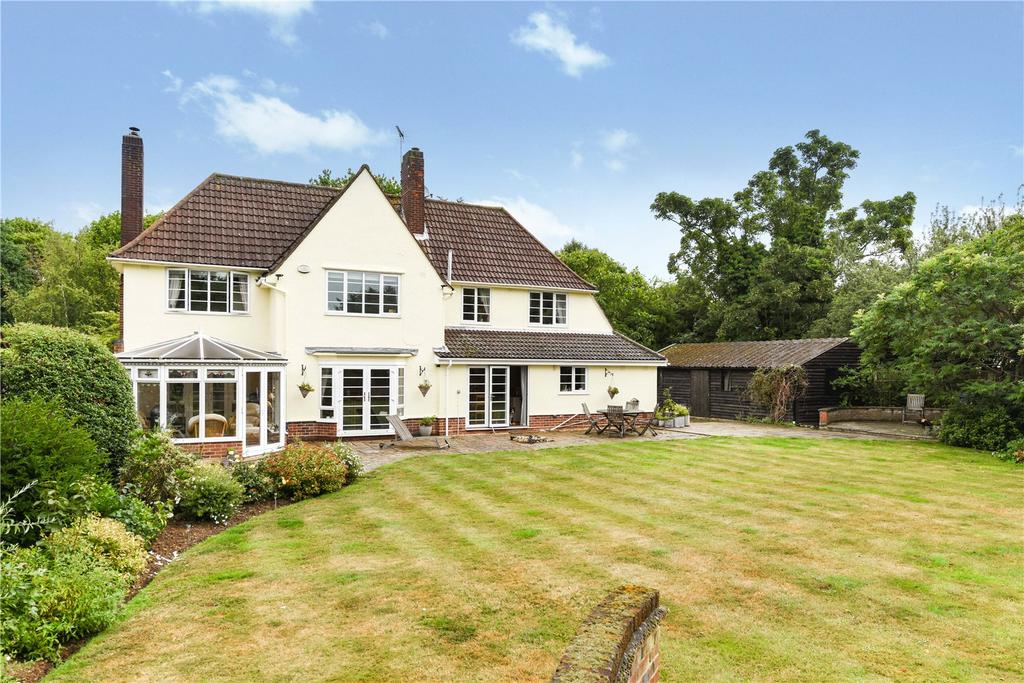 4 Bedrooms Detached House for sale in Church Lane, Westerfield, Ipswich, IP6