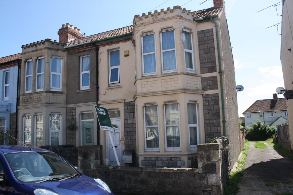 3 Bedrooms End Of Terrace House for sale in Kensington Road, Weston-super-Mare