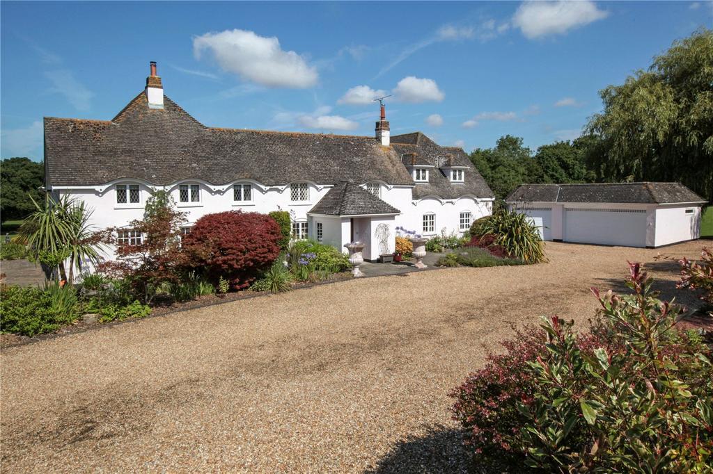 5 Bedrooms Unique Property for sale in Slough Lane, Horton, Wimborne, Dorset, BH21