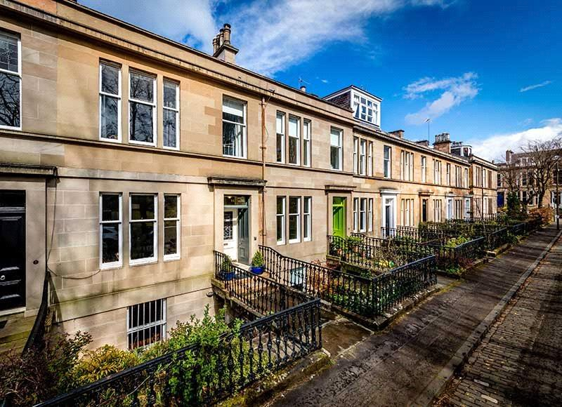 4 Bedrooms Terraced House for sale in Hamilton Drive, West End, Glasgow, G12
