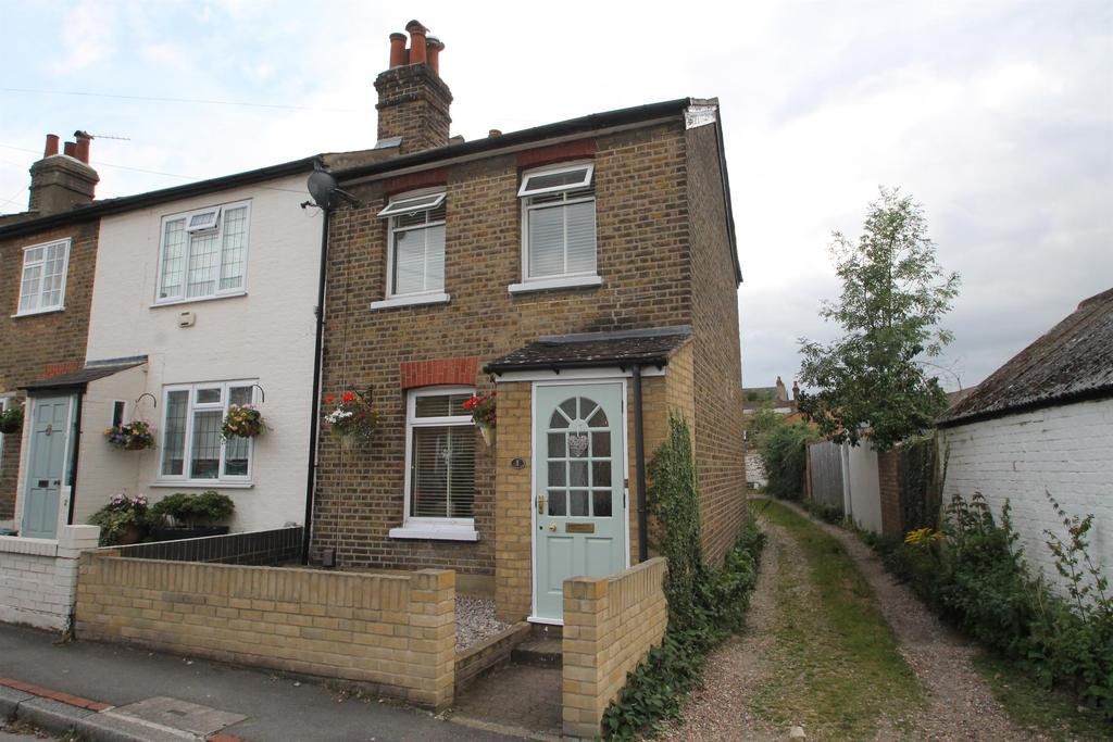 2 Bedrooms End Of Terrace House for sale in Queens Road, Chislehurst, Kent, BR7 5AZ