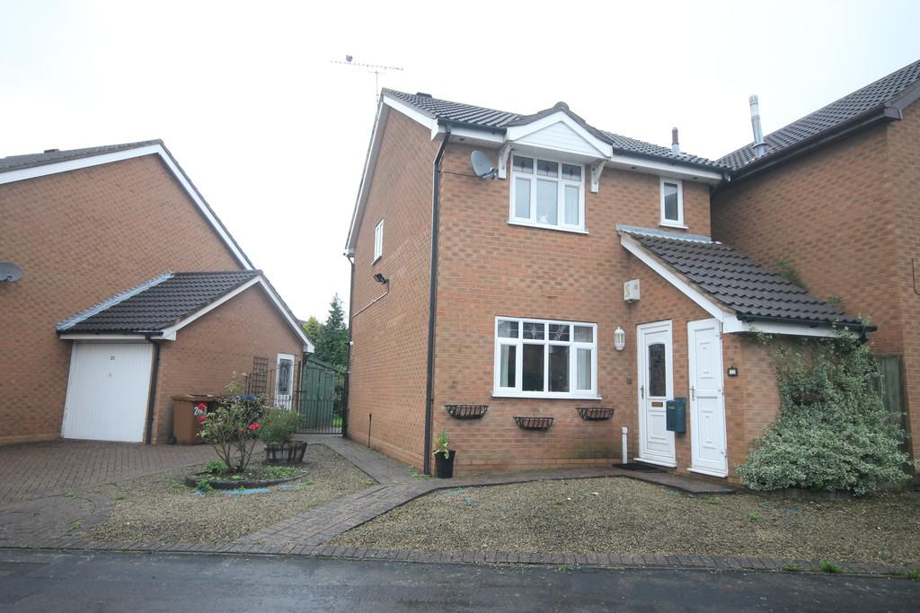 3 Bedrooms Detached House for sale in Nelson Drive , Hinckley