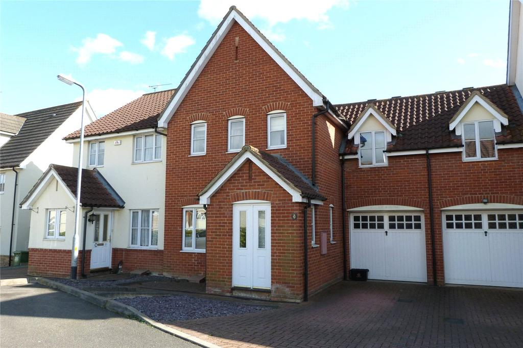 3 Bedrooms Terraced House for sale in Calvinia Close, Noak Bridge, Essex, SS15