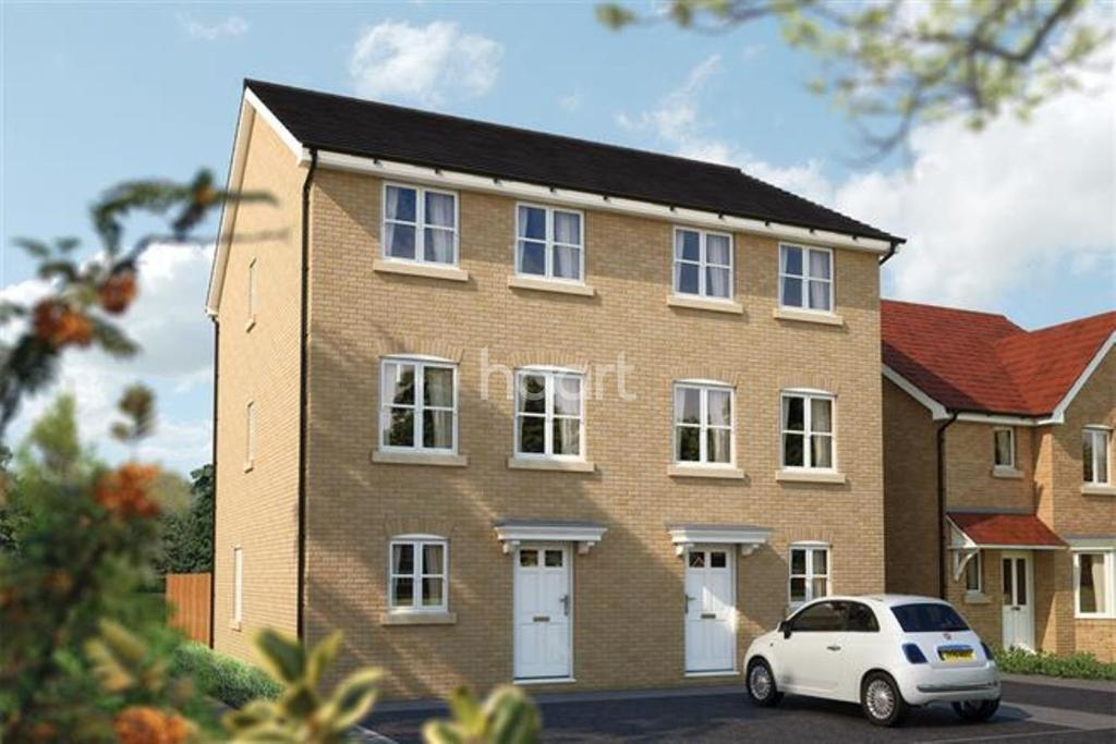 3 Bedrooms Semi Detached House for sale in The Winchcombe, Hatchwood Mill