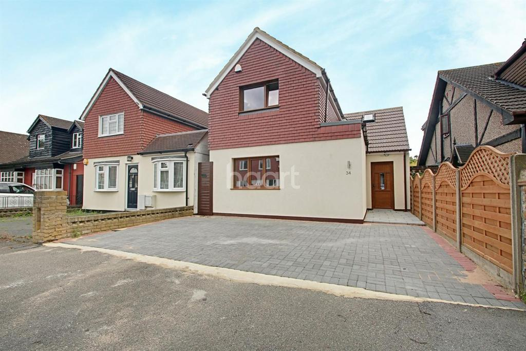 4 Bedrooms Semi Detached House for sale in Great Gardens Road, Hornchurch
