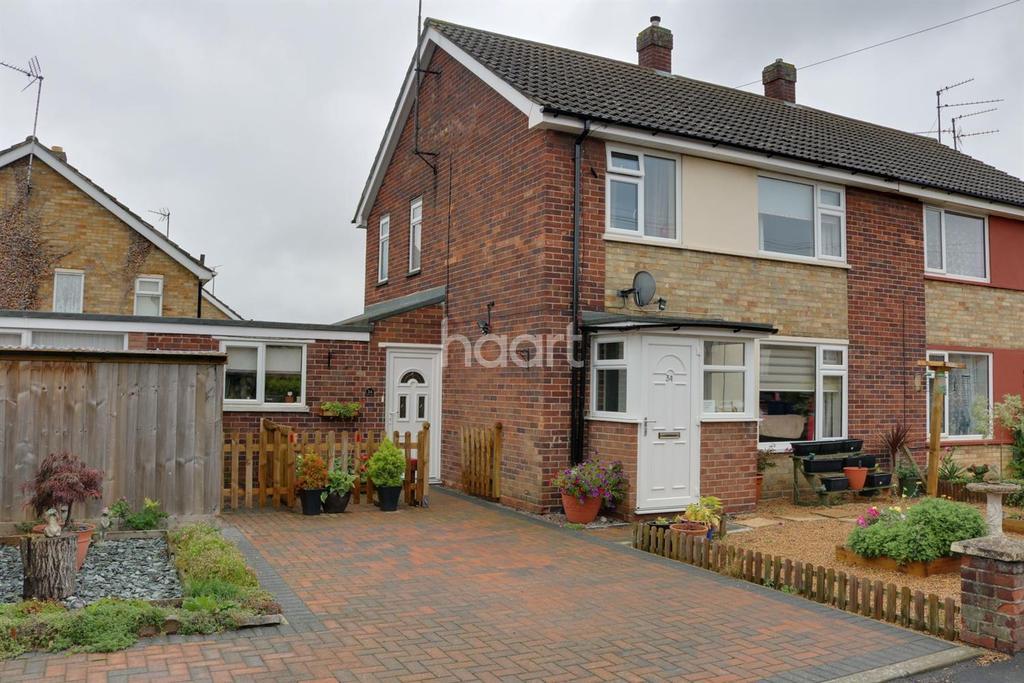 4 Bedrooms Semi Detached House for sale in Waterlees Road, Wisbech
