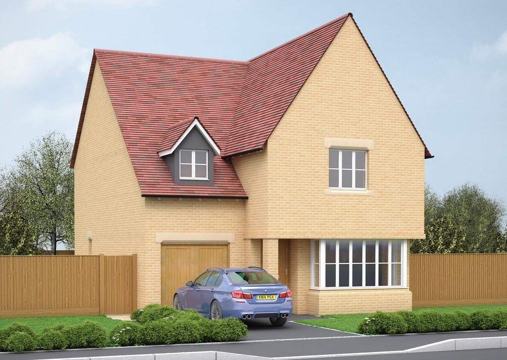 4 Bedrooms Detached House for sale in Plot 63, Victoria Heights, Melbourn, Cambridge