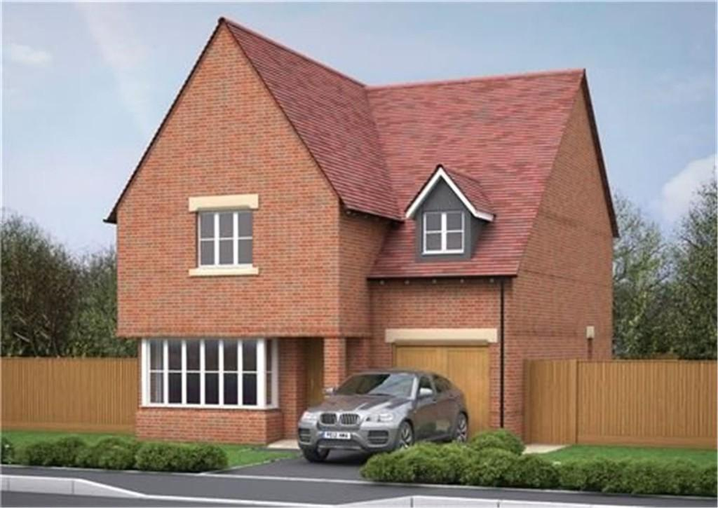4 Bedrooms Detached House for sale in Plot 64, Victoria Heights, Melbourn, Cambridge