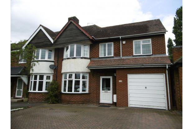 4 Bedrooms House for sale in BROADWAY WEST, WALSALL