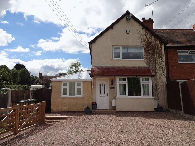 2 Bedrooms Semi Detached House for sale in Old Worcester Road Waresley, Hartlebury DY11 7XS