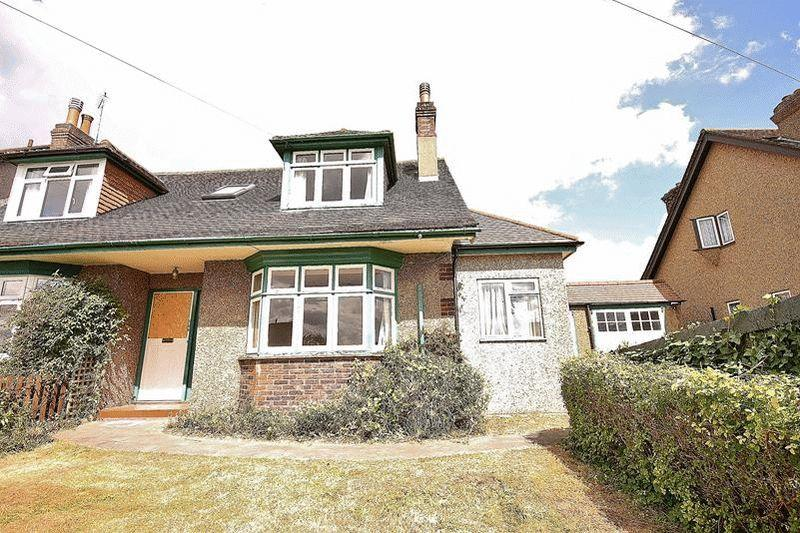 2 Bedrooms Semi Detached House for sale in Downs Court Road, Purley