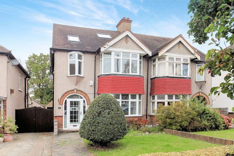 4 Bedrooms Semi Detached House for sale in Goodhart Way, West Wickham
