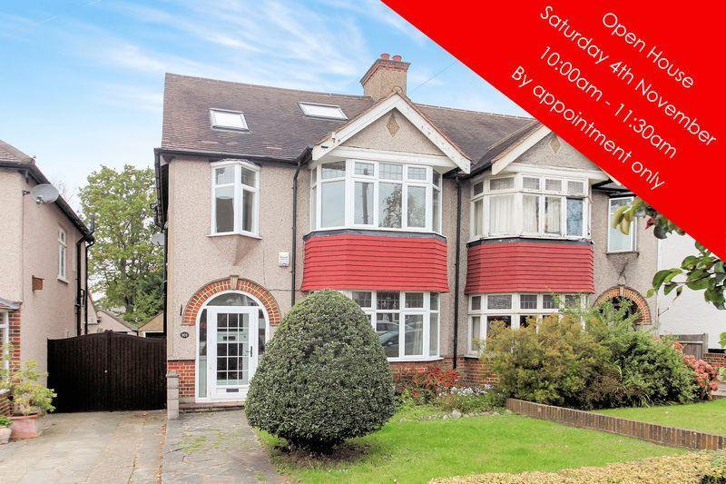4 Bedrooms Semi Detached House for sale in Goodhart Way, West Wickham