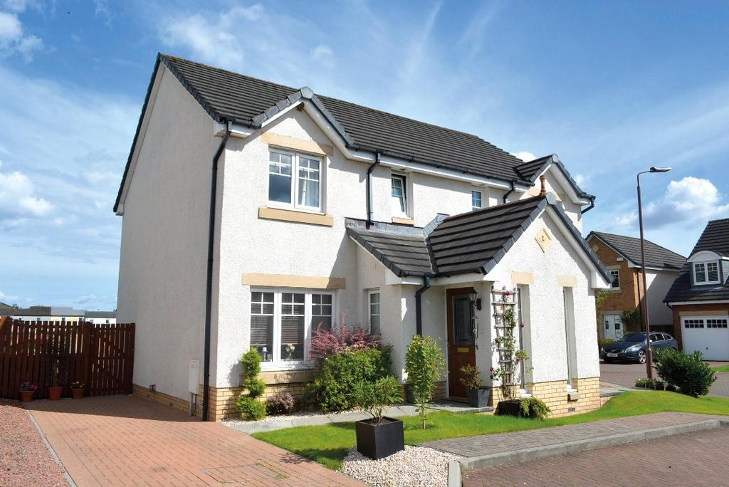 3 Bedrooms Semi Detached House for sale in Birch Grove, Menstrie, Stirling, FK11 7DW