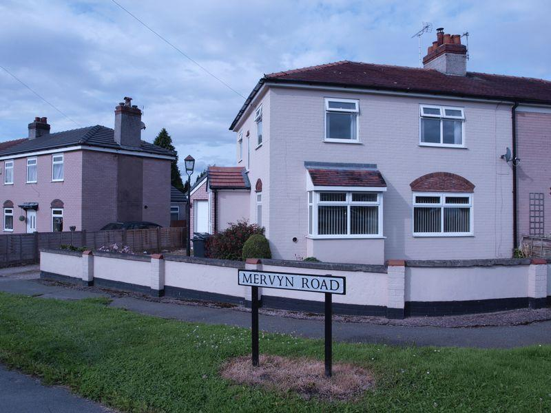 4 Bedrooms Semi Detached House for sale in Mervyn Road, Northwich