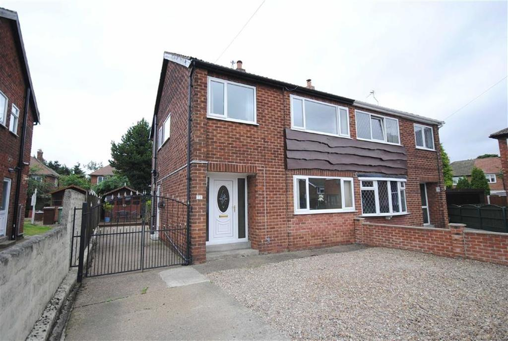 3 Bedrooms Semi Detached House for sale in Park Avenue, Allerton Bywater, Castleford, WF10