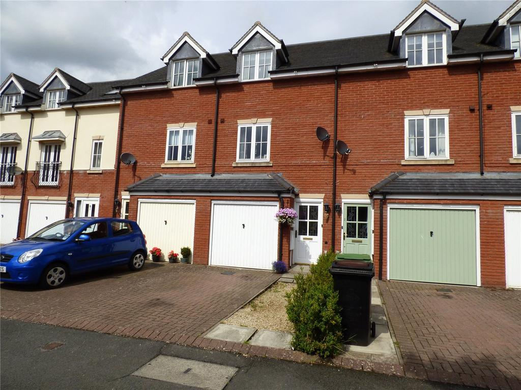 3 Bedrooms Terraced House for sale in Swan Court, Burford, Tenbury Wells, Shropshire