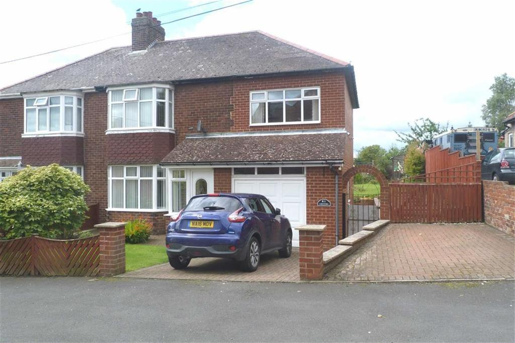 4 Bedrooms Semi Detached House for sale in Balfour Terrace, Chopwell, Tyne Wear