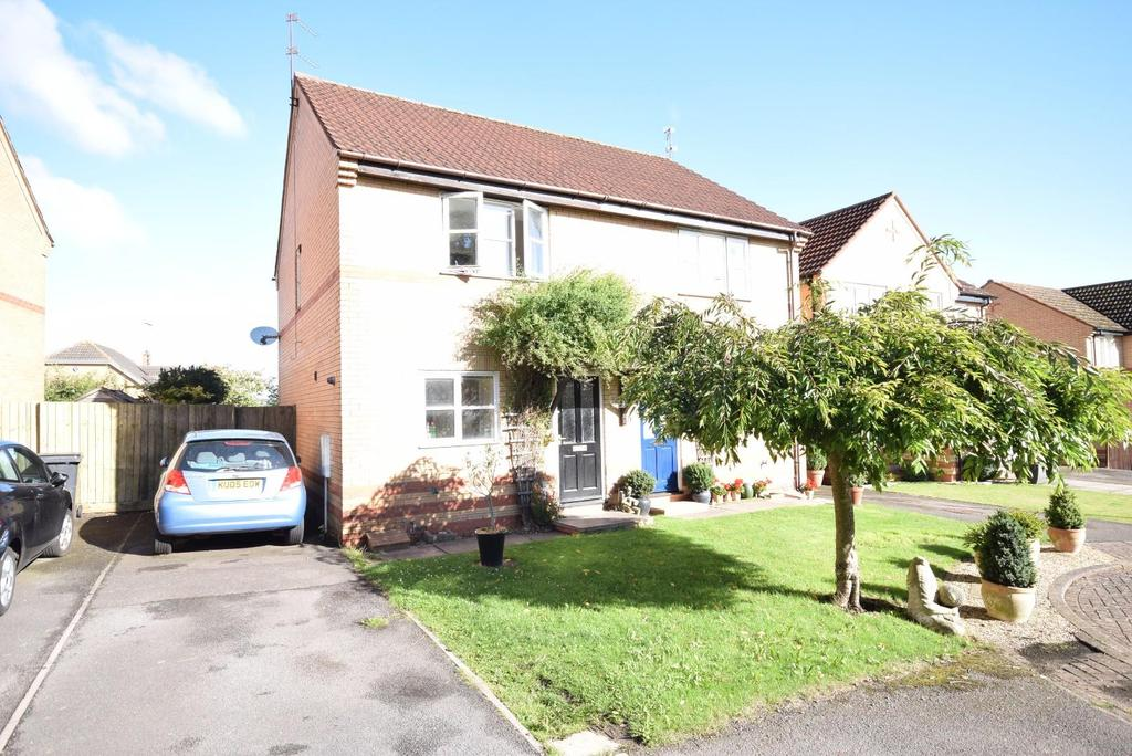 2 Bedrooms Semi Detached House for sale in Horselease Close, Great Oakley, Corby