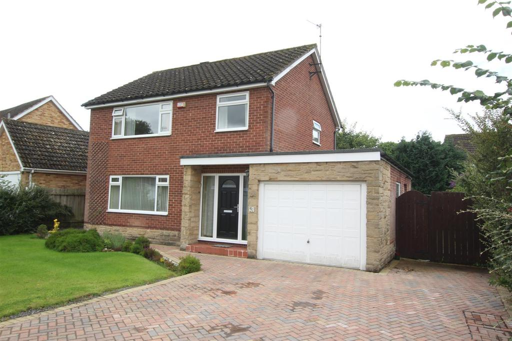 3 Bedrooms Detached House for sale in Edinburgh Drive, Darlington