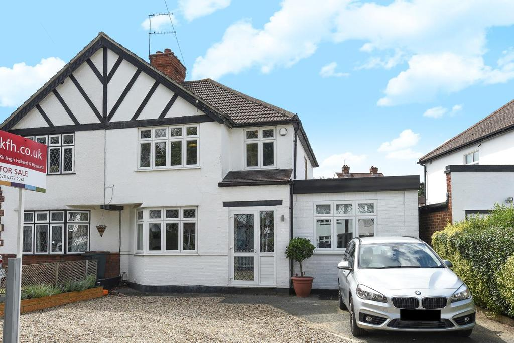 4 Bedrooms Semi Detached House for sale in Chestnut Avenue, West Wickham