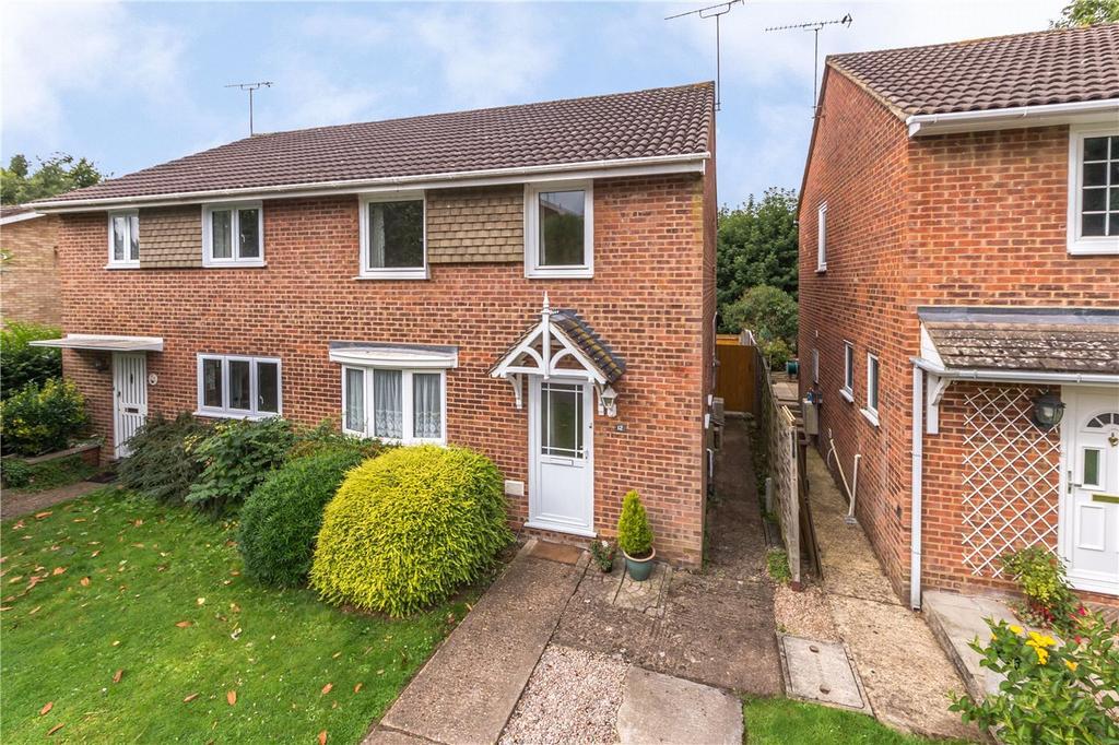 3 Bedrooms Semi Detached House for sale in Furzedown Court, Milton Road, Harpenden, Hertfordshire