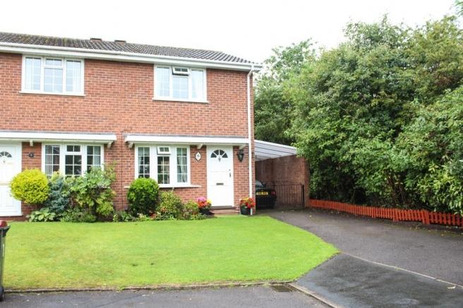 2 Bedrooms Semi Detached House for sale in 9 Ingestre Close, Newport, Shropshire, TF10 7UP