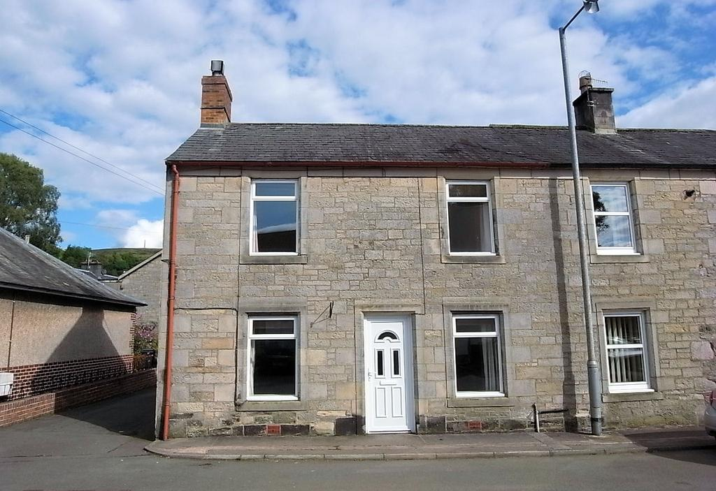 2 Bedrooms End Of Terrace House for sale in Langholm DG13