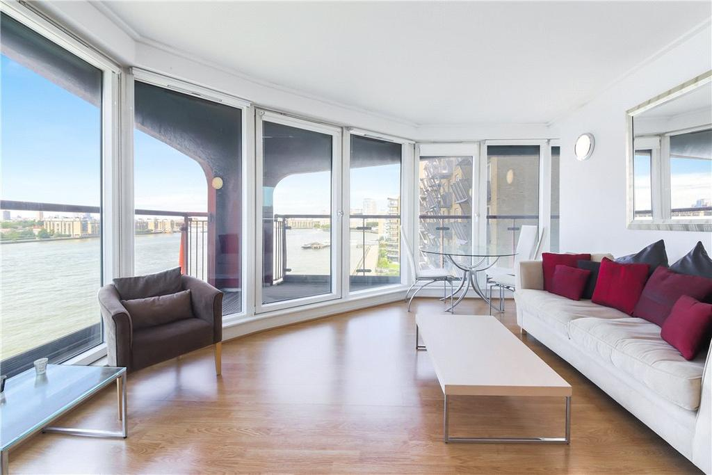 2 Bedrooms Flat for sale in Seacon Tower, 5 Hutchings Street, Isle Of Dogs, London, E14