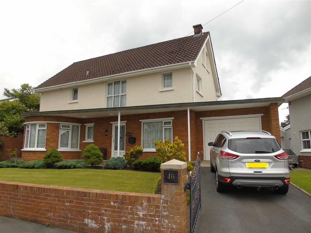 4 Bedrooms Detached House for sale in Spowart Avenue, Llanelli