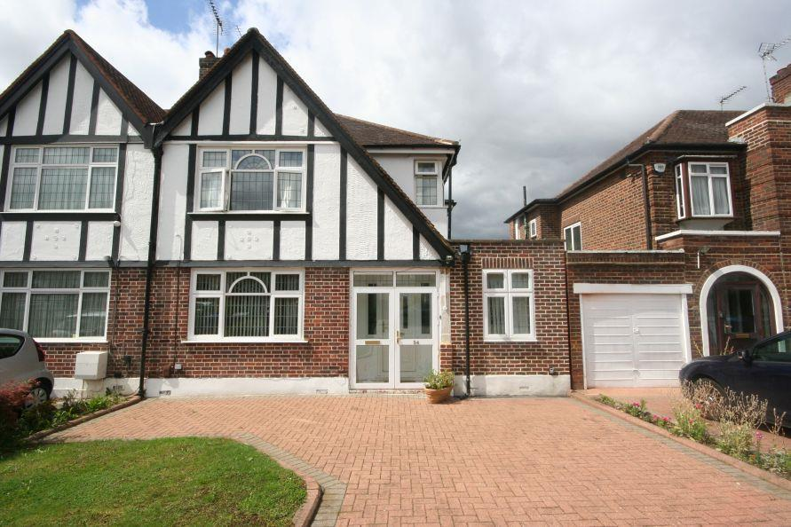 3 Bedrooms Semi Detached House for sale in Lindsay Drive, Lindsey Drive Estate, HA3 0TD