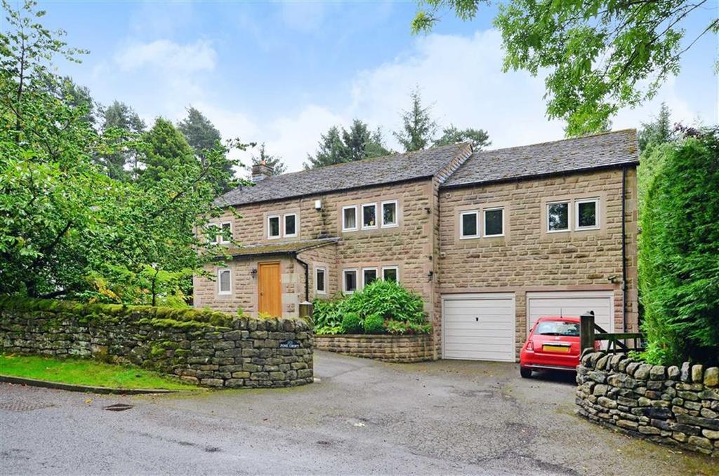 5 Bedrooms Detached House for sale in Pine Croft, Moorlands Lane, Froggatt, Hope Valley, S32